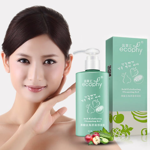 Organic Beauty Peeling Exfoliating Gel Cleanser