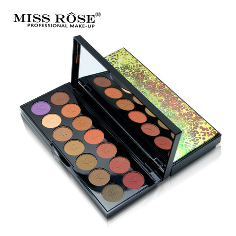 Natural Matte Waterproof Eyeshadow Pallet - MyShimi.com