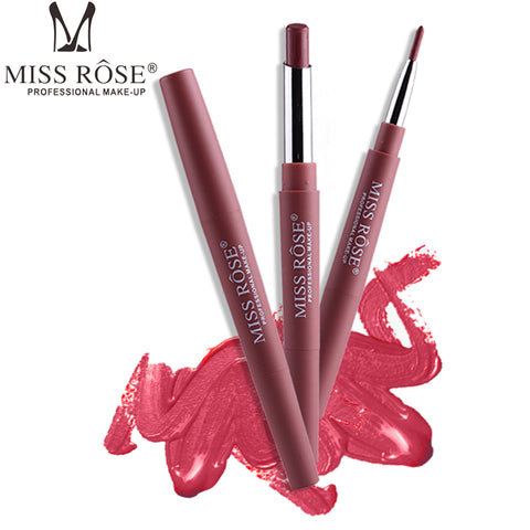 Waterproof Double Ended Lipstick and Lip Liner