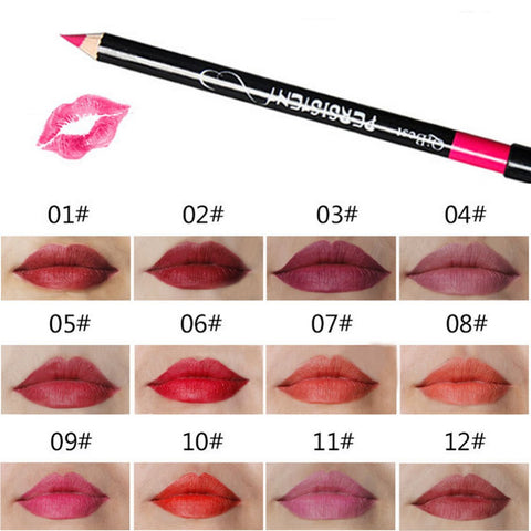 Waterproof Lip Liner Pencil Set - MyShimi.com