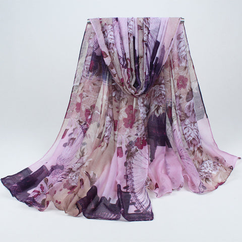 High Quality Bohemian Beach Soft Long Scarf - MyShimi.com