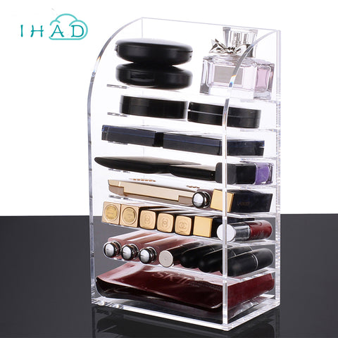 8-Layer Cosmetic and Makeup Clear Organizer - MyShimi.com