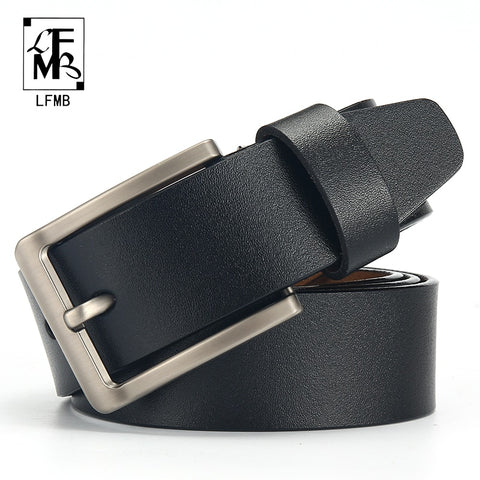 Genuine Cow Leather Strap Designer Belts for Men - MyShimi.com