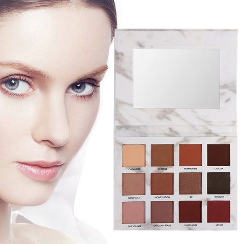 Earth Matte Natural Pigment Eye shadow Pallet Makeup - MyShimi.com