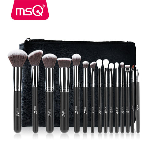15 Pieces Professional Makeup Brush Set - MyShimi.com