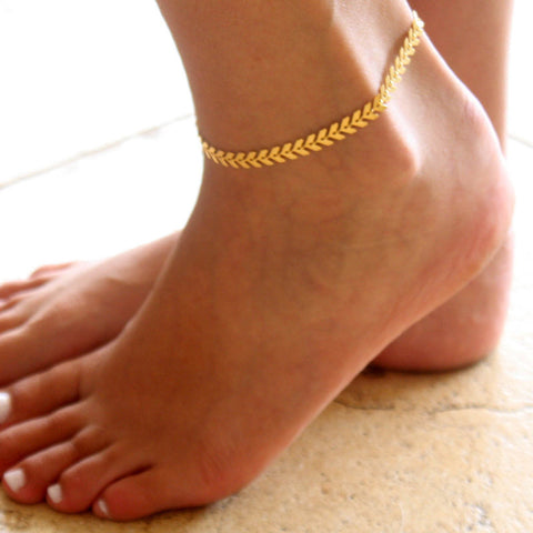 Stunning Gold or Silver Color  Anklet For Women - MyShimi.com