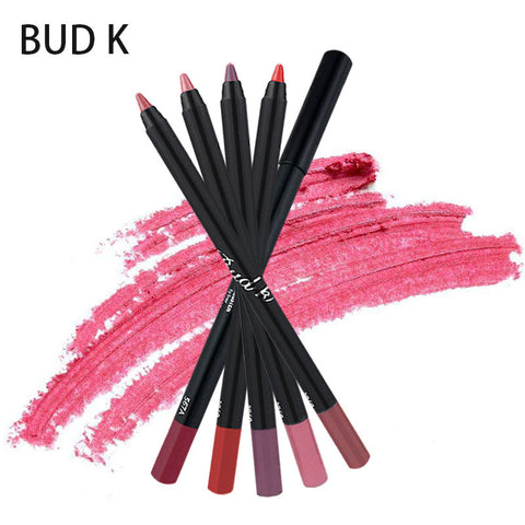 Nude & Gorgeous Shades Waterproof  Lip Liner Pencils - MyShimi.com
