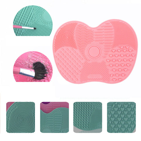 Silicone Brush Cleaner Mat Washing Tools for Cosmetics