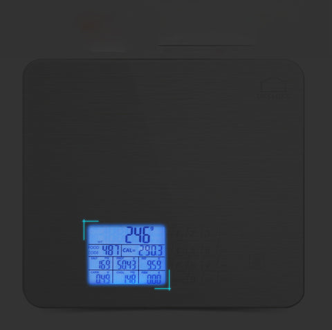 Nutrition Digital Food Scale with Nutritional Screen Samples