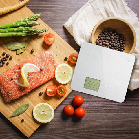 Nutrition Digital Food Scale with Nutritional Screen Samples - MyShimi.com
