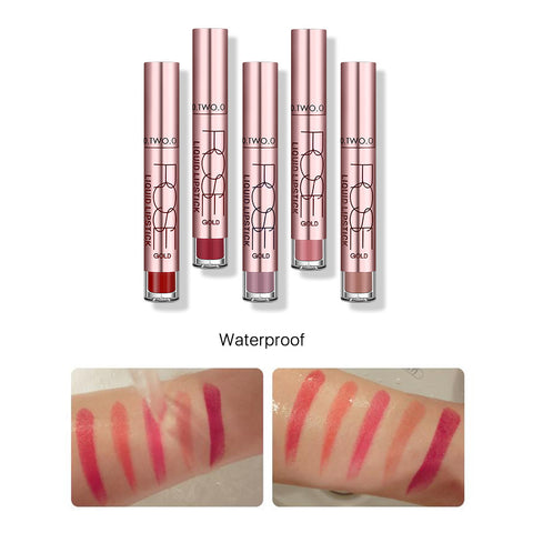Long Lasting Waterproof and Kiss-proof Matte Lip Gloss / Lipstick - MyShimi.com