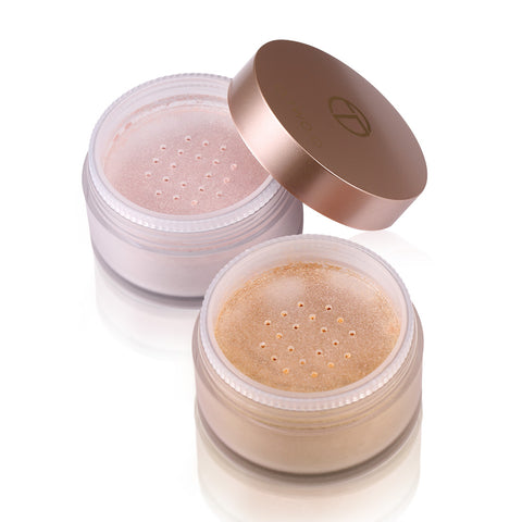 Glitter Gold Makeup Bronzer and Highlighter Loose Powder - MyShimi.com