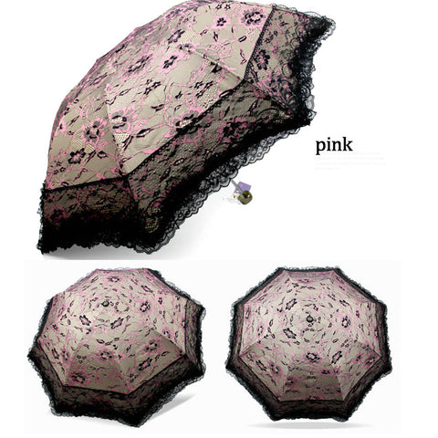 Creative Folding Lace Umbrella - MyShimi.com