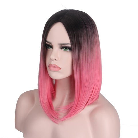 Natural Shoulder Length Hair Wig - MyShimi.com