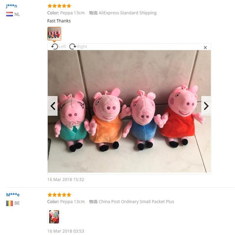 Peppa Pig  & family Plush Toys for Children - MyShimi.com