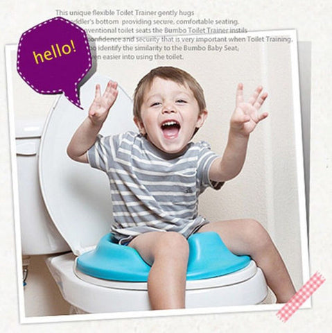 Potty Training Toilet Seat Padded Soft Ring