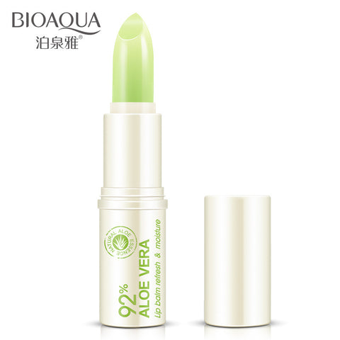 Natural Aloe Vera Lip Balm Moisturizing Treatment - MyShimi.com