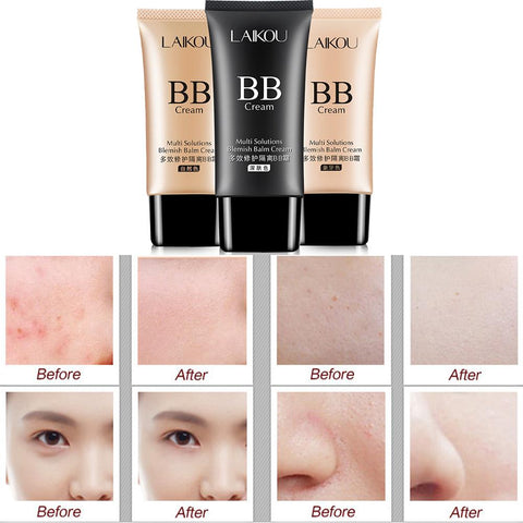 Hydrating BB Cream Concealer Foundation Make-Up - MyShimi.com