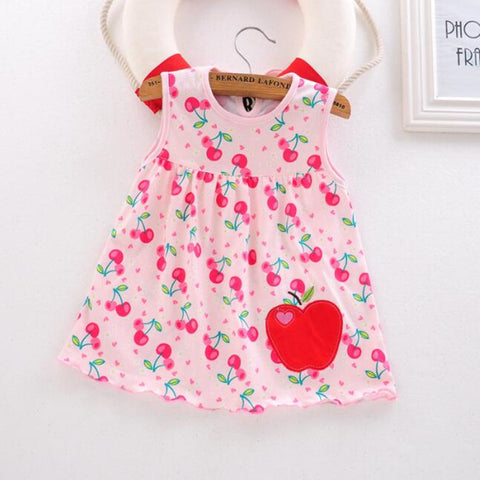 Premium Cotton Summer Baby Dresses for  0-12 Months