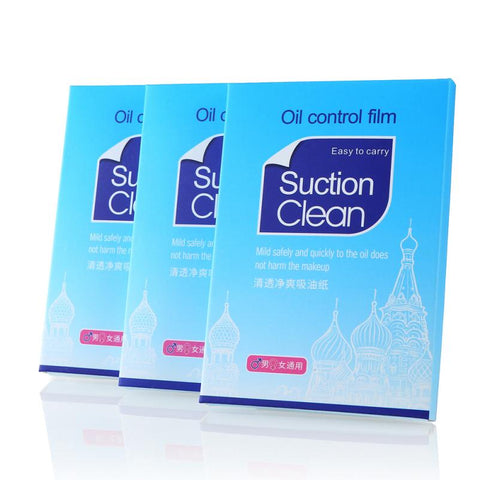 Glossy Clear Oil Control Absorbing Sheets - MyShimi.com