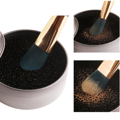 Aluminum Makeup Brushes Cleaning Tools - MyShimi.com
