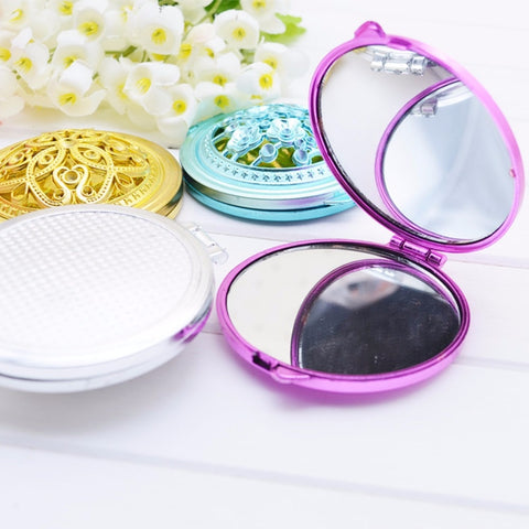Vintage Double-Side Pocket Mirror - MyShimi.com
