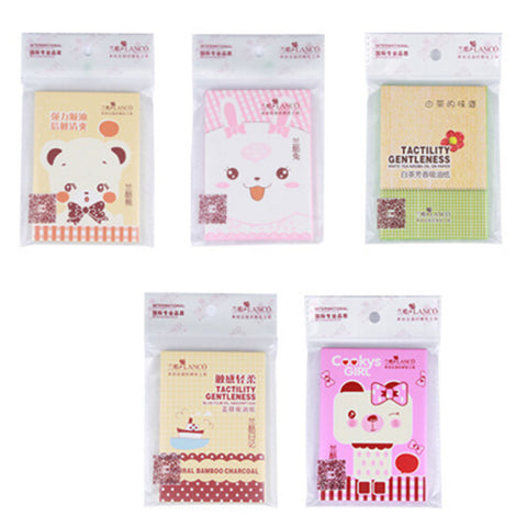 Facial Oil Control Absorbing Blotting Papers - MyShimi.com