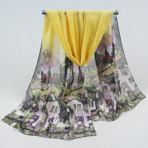 Stunning Chiffon and Polyester Scarves