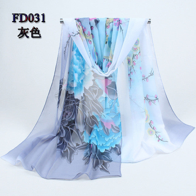 Stunning Chiffon and Polyester Scarves - MyShimi.com