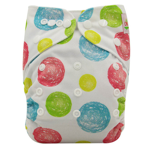 Adjustable Bamboo Fiber Cloth Diaper - MyShimi.com