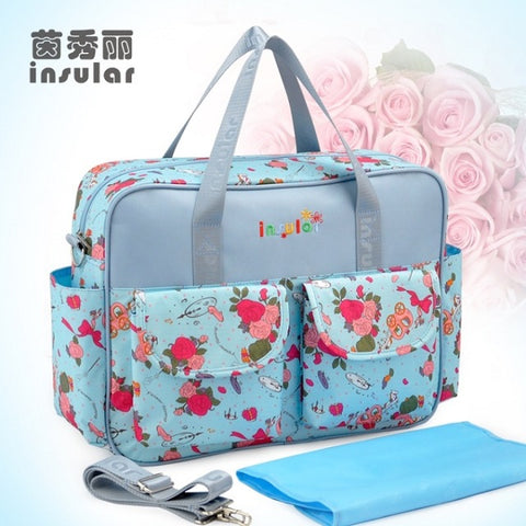 Lovely Multicolored Large Capacity Baby Diaper - MyShimi.com