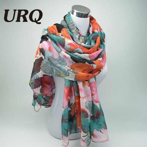 Flower Printed Warm Scarves - MyShimi.com