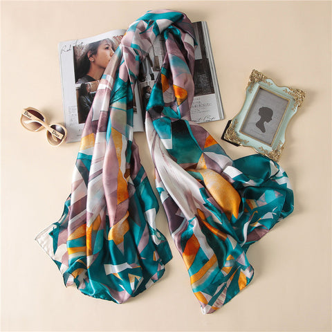 All Season Fashionable Silk Scarves - MyShimi.com