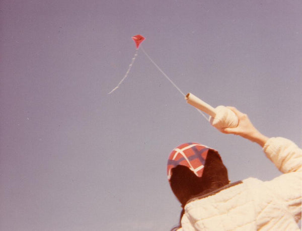 Elaine McCabe Flying Kite Ohio