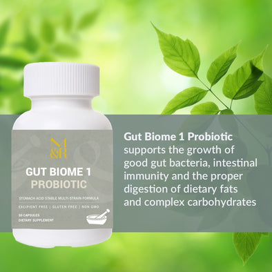 GUT BIOME 1 PROBIOTIC