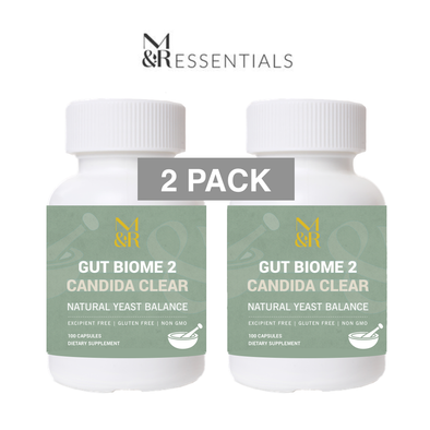 GUT BIOME 2 CANDIDA CLEAR (2 Pack)