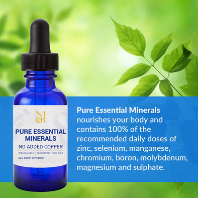 M&R Essentials - Pure Essential Minerals Liquid Supplement