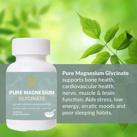 PURE MAGNESIUM GLYCINATE