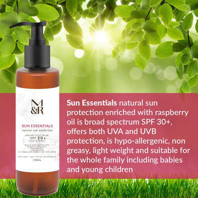 SUN ESSENTIALS NATURAL SUN PROTECTOR
