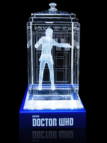 11th Doctor (Matt Smith) Crystal TARDIS
