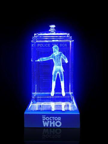 ALMOST GONE! 11th Doctor (Matt Smith) Crystal TARDIS