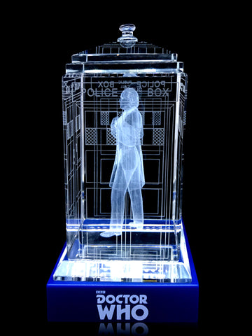 ALMOST GONE!  1st Doctor (William Hartnell) Crystal TARDIS