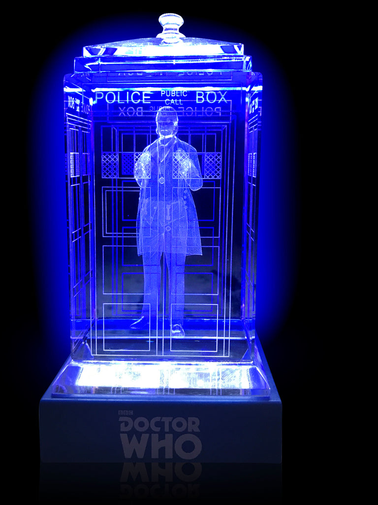 1st Doctor (William Hartnell) Crystal TARDIS
