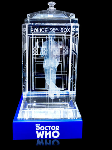 10th Doctor (David Tennant) Crystal TARDIS