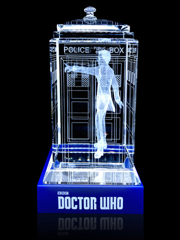 Almost Gone! 12th Doctor (Peter Capaldi) Crystal TARDIS