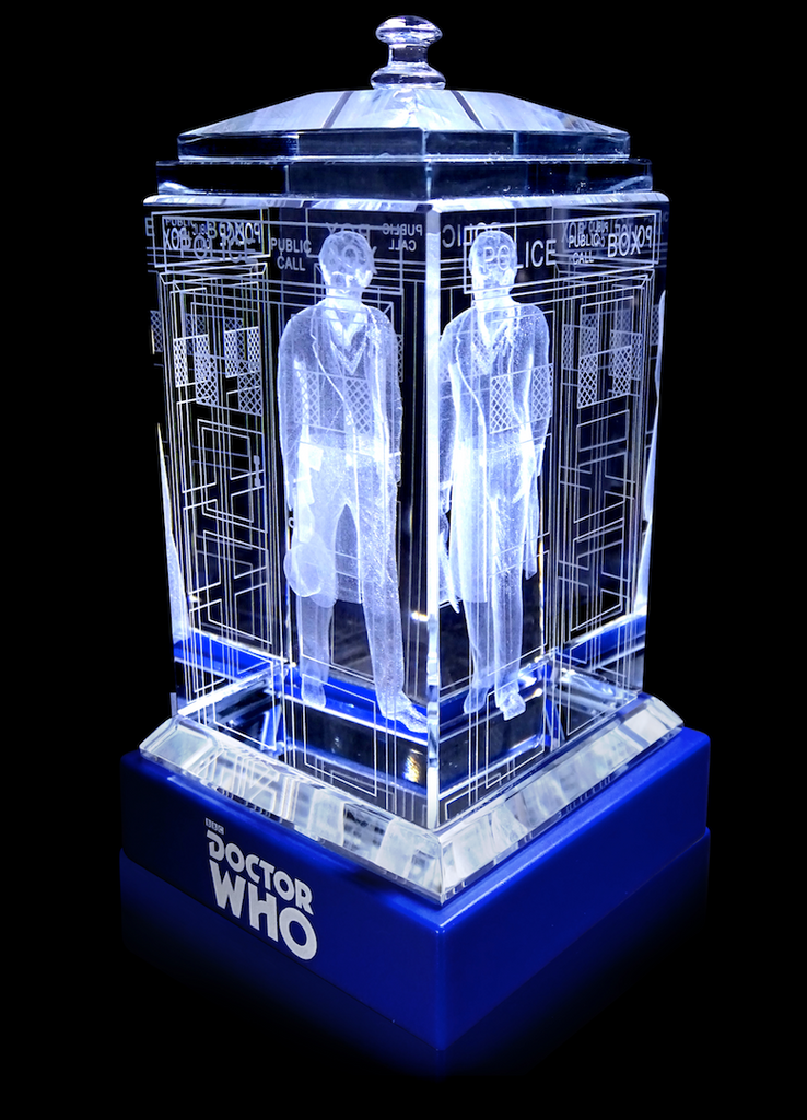 5th Doctor (Peter Davison) Crystal TARDIS