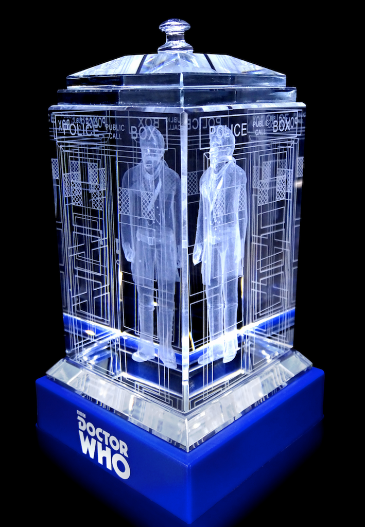 SDCC SALE! The War Doctor (John Hurt) Crystal TARDIS
