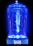 The War Doctor (John Hurt) Crystal TARDIS