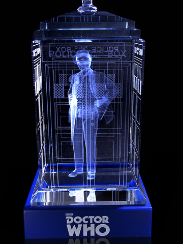SALE! 7th Doctor (Sylvester McCoy) Crystal TARDIS
