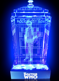 7th Doctor (Sylvester McCoy) Crystal TARDIS